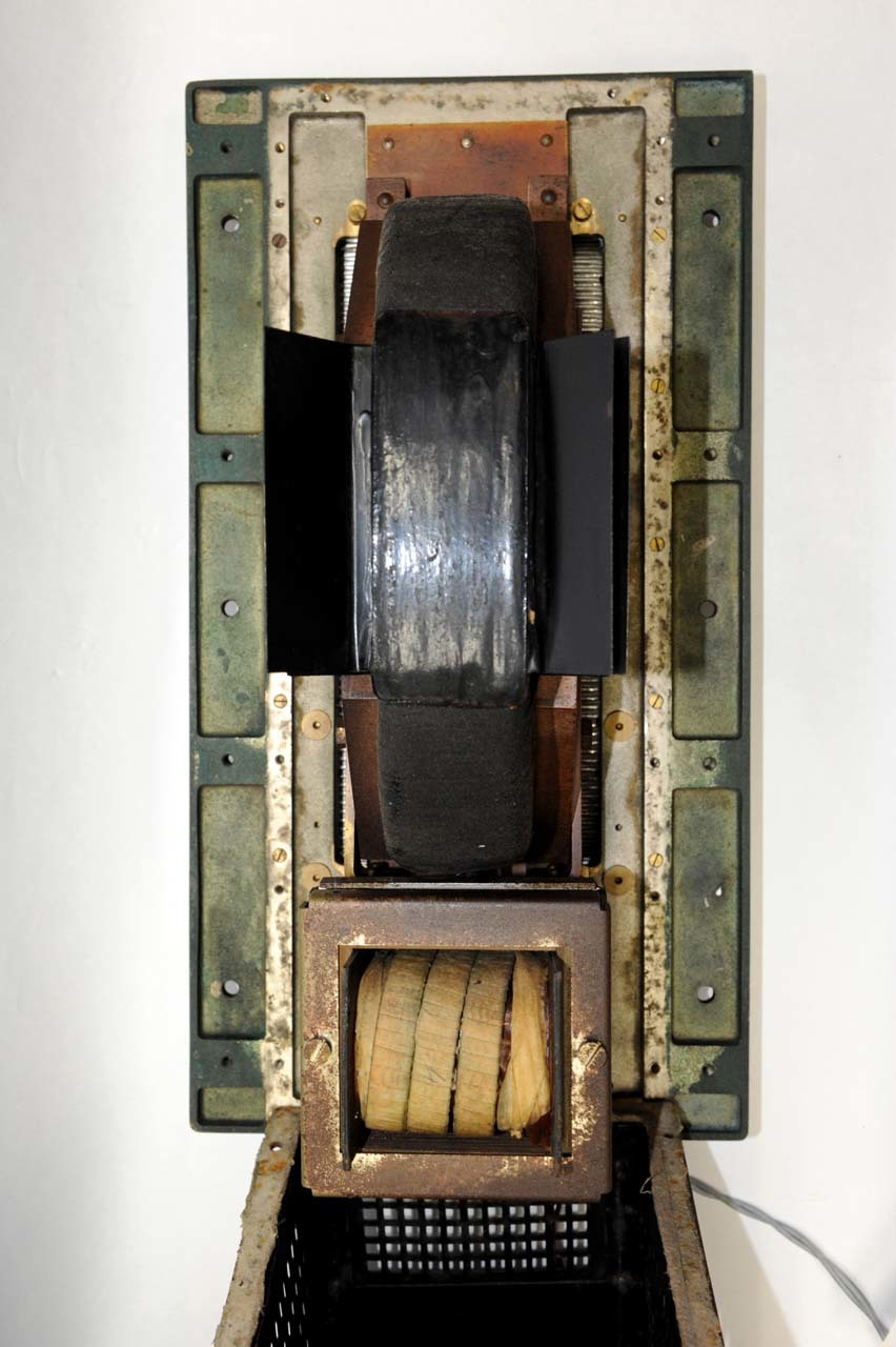 Inside of Riffel loudspeaker ELL13 (without the rear cover, 1930)