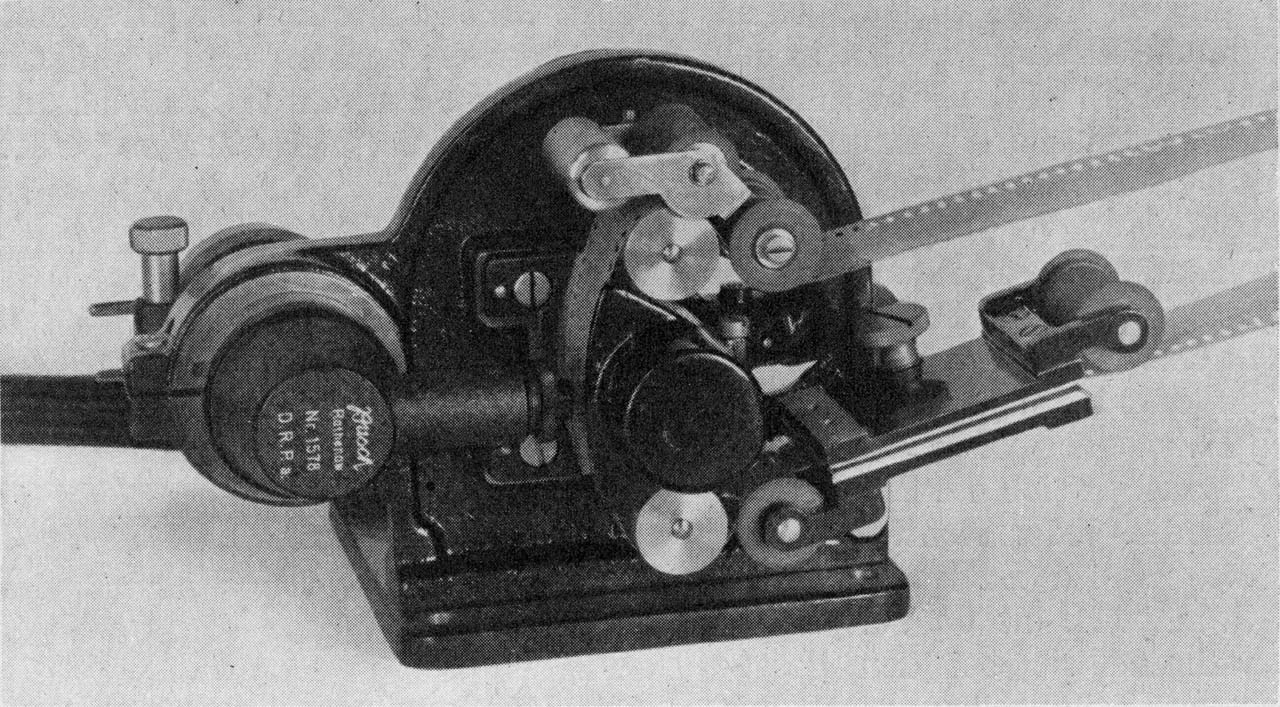 ZETTON optical head (sound film pickup equipment, 1931)