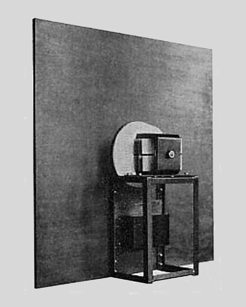 Rear view of ZETTON Loudspeaker (1931)
